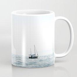 BOAT - WATER - OCEAN - SEA - PHOTOGRAPHY Coffee Mug