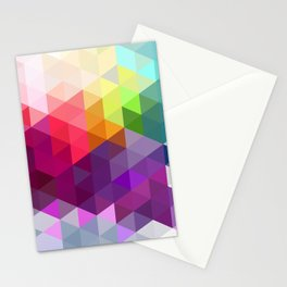 Pixel Prism Stationery Cards
