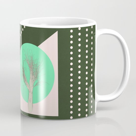 In my world forests are geometric Mug