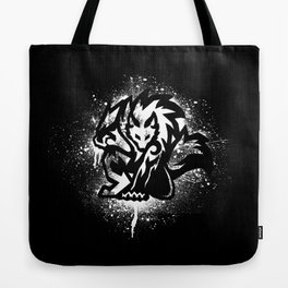 Tribal Werewolf Tote Bag
