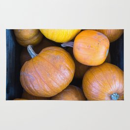 Pile of pumpkins Rug