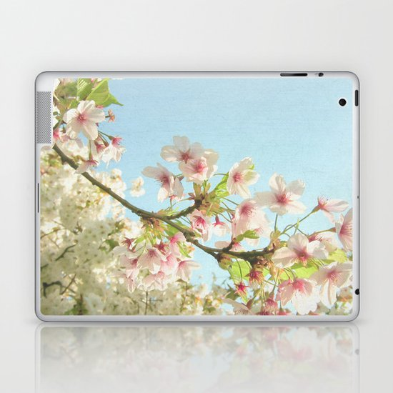 Pink on White Laptop & iPad Skin