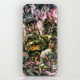 Lady of the Copper Mountain iPhone Skin