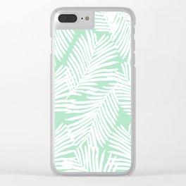 Areca Palm minimal tropical house plants minimalism art print zen chill decor Clear iPhone Case