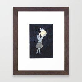 A Dream that I See You Again Framed Art Print