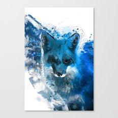 Arctic Fox #fox Canvas Print