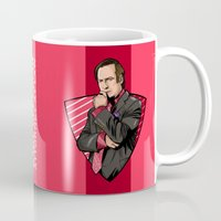 lawyer Mugs featuring You need a lawyer? by Akyanyme