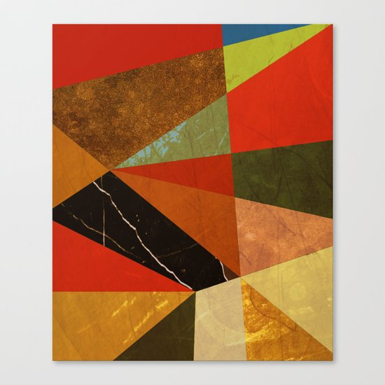 Abstract #257 Vincent's Bedroom Canvas Print