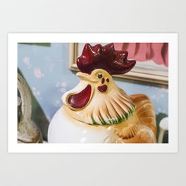 Kitchen Rooster Art Print
