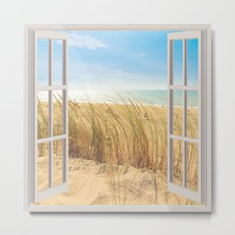 Dunes Sand | OPEN WINDOW ART Metal Print