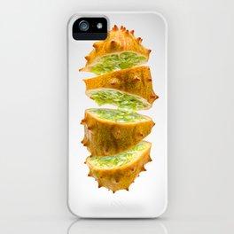 Flying Kiwano iPhone Case