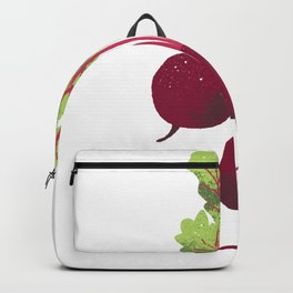 Beetroot Illustration Backpack