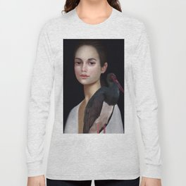 Miss Black Stork Long Sleeve T-shirt