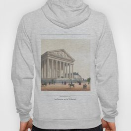 Paris Decor office decoration vintage decor LA MADELEINE of Paris Hoody