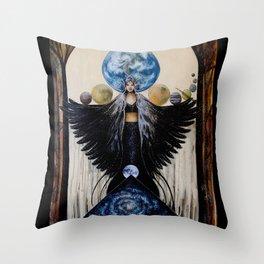 Between the Worlds Throw Pillow