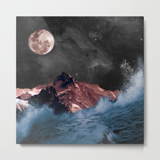 space in sea Metal Print
