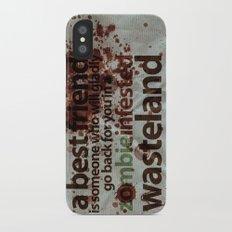 Zombie Infested Wasteland iPhone X Slim Case