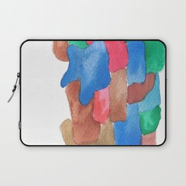 171013 Invaded Space 13 abstract shapes art design colour  shapes art abstract Laptop Sleeve