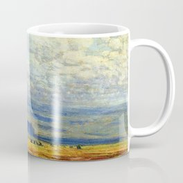 Classical Masterpiece 'Oregon Landscape' by Frederick Childe Hassam Coffee Mug