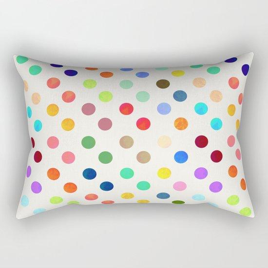 Polka Proton Rectangular Pillow