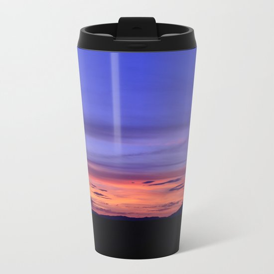Southwest Sunrise Metal Travel Mug