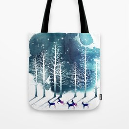 Winter Night 2 Tote Bag