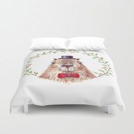 Sir Capybara Duvet Cover