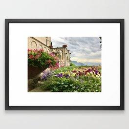 Amalfi Coast — Ravello, Italy Framed Art Print