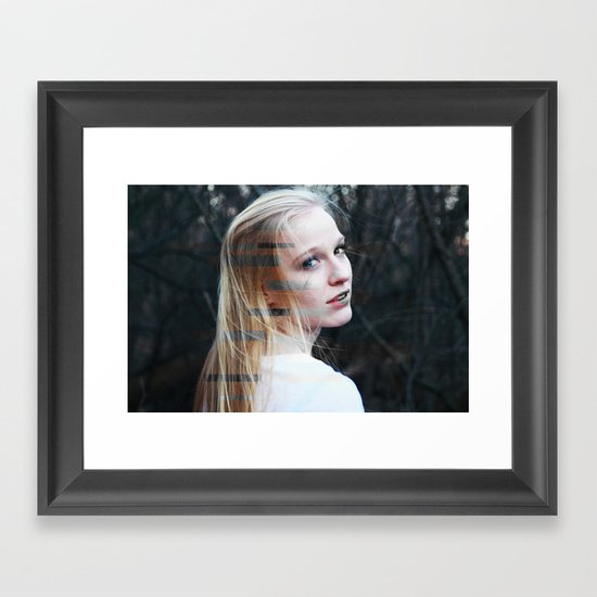 Scatterbrained Framed Art Print