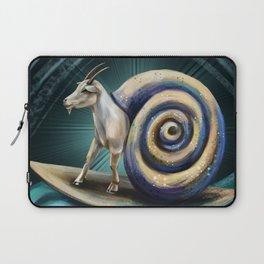 Goat-snail Laptop Sleeve
