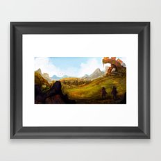 Outskirts Framed Art Print