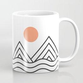 Sunset Minimalist Coffee Mug