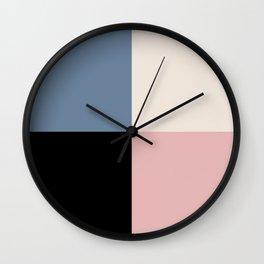 Color Block Abstract XVI Wall Clock