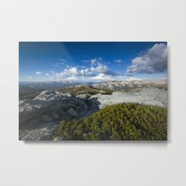 The Range Metal Print