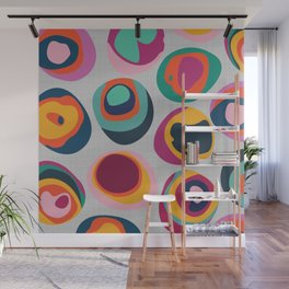 Rainbow Resin Wall Mural
