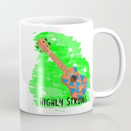 Highly Strung Ukulele Coffee Mug
