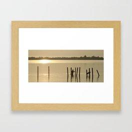 Morning Fish Framed Art Print