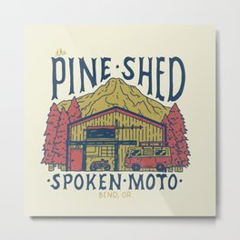 The Pine Shed  Metal Print