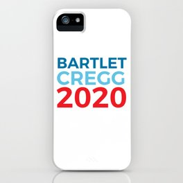 Jed Bartlet CJ Cregg 2020 / The West Wing iPhone Case