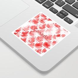 Canada Maple Leaf Sticker