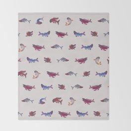 Salmon Throw Blanket