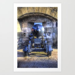 Cannon Edinburgh Castle Art Print