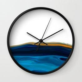 Marble Agate Wall Clock