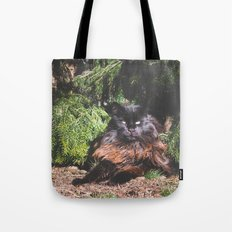 The king of the cats Tote Bag
