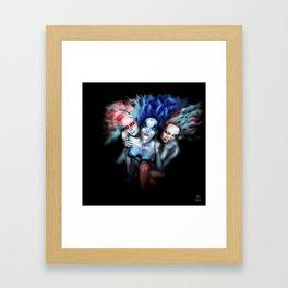 Sisters 3  Framed Art Print
