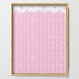 Kawaii Pink Serving Tray