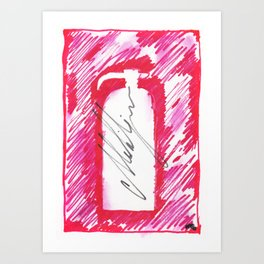 Fire Extinguisher 2 Art Print