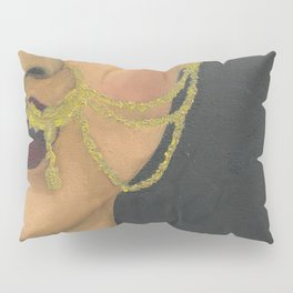 Woman With a Nose Ring Pillow Sham