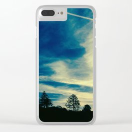 A Painter's Sky Clear iPhone Case