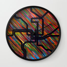 DC Metro Wall Clock